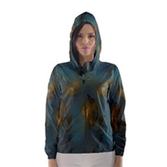Broken Pieces Hooded Wind Breaker (Women)	 by theunrulyartist