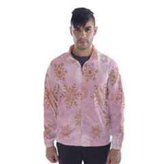 Winter Bokeh Pink Wind Breaker (men) by MoreColorsinLife