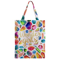 Wondergirls Zipper Classic Tote Bag by walala