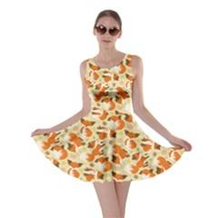 Curious Maple Fox Skater Dress