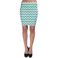 Chevron Pattern Gifts Bodycon Skirts