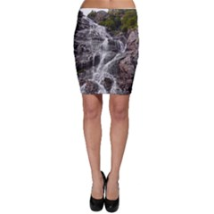 Mountain Waterfall Bodycon Skirts by trendistuff