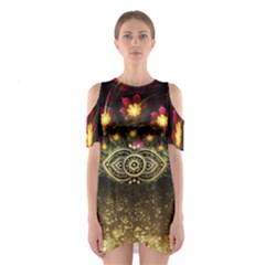 Tribal2 Women s Cutout Shoulder Dress