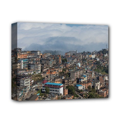 Yuanyang County Deluxe Canvas 14  X 11  by trendistuff