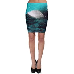 Mendenhall Ice Caves 2 Bodycon Skirts by trendistuff