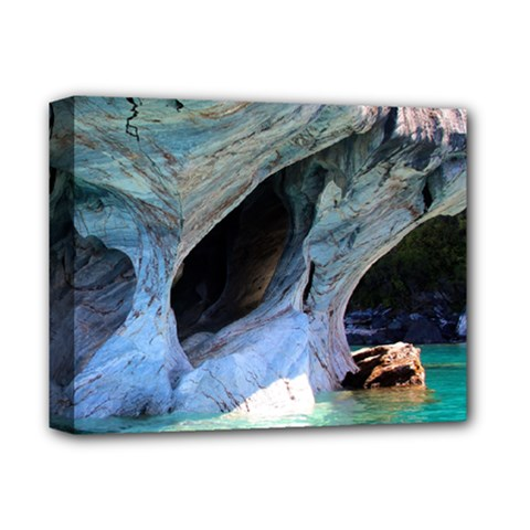 Marble Caves 2 Deluxe Canvas 14  X 11  by trendistuff