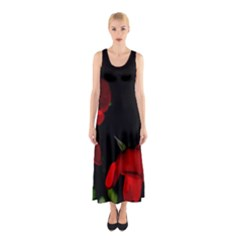 Roses 2 Full Print Maxi Dress
