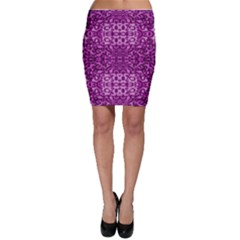 Lion In Purple Bodycon Skirts by pepitasart