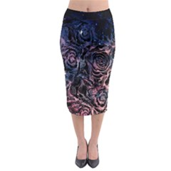 Galaxy Midi Pencil Skirt by Wanni