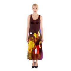 Empire Lights1 Sleeveless Maxi Dress