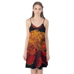 Marigold On Black Camis Nightgown by MichaelMoriartyPhotography
