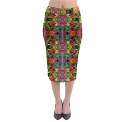Honolulu Lit1111030010 Midi Pencil Skirt by tresfoliaredpinkpurple