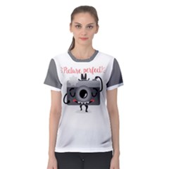 Picture perfect! Women s Sport Mesh Tee by Contest1771648