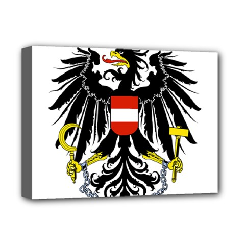 Coat Of Arms Of Austria Deluxe Canvas 16  X 12   by abbeyz71