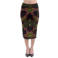 Gtgtj67ujirrfgerge Midi Pencil Skirt by MRTACPANS