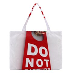 Do Not Disturb Medium Tote Bag by AnjaniArt