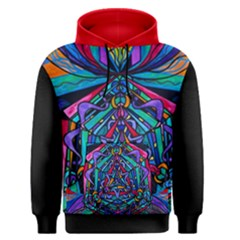 Pleiadian  coherence  Lightwork Model   Men s Pullover Hoodie by tealswan