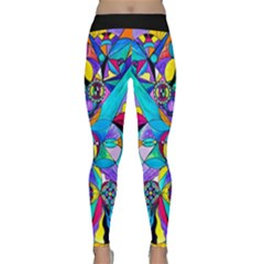 The Cure   Yoga Leggings  by tealswan