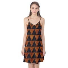 Triangle2 Black Marble & Brown Marble Camis Nightgown  by trendistuff