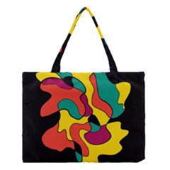 Colorful Spot Medium Tote Bag by Valentinaart