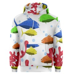 Corals And Fish Men s Pullover Hoodie