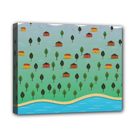 Rural Scenery Canvas 10  X 8  by AnjaniArt