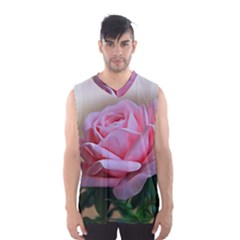 Rose Pink Flowers Pink Saturday Men s Basketball Tank Top by Amaryn4rt