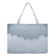 Soft Pure Backgrounds Medium Tote Bag by Jojostore