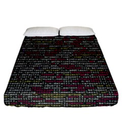 Full Frame Shot Of Abstract Pattern Fitted Sheet (california King Size)