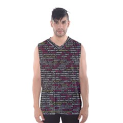 Full Frame Shot Of Abstract Pattern Men s Basketball Tank Top by Amaryn4rt