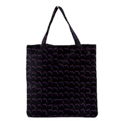 Smooth Color Pattern Grocery Tote Bag