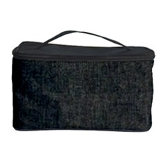 Linen Solid Fabric Cosmetic Storage Case by Jojostore