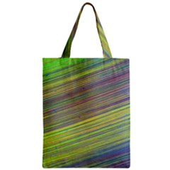 Diagonal Lines Abstract Classic Tote Bag