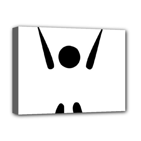 Air Sports Pictogram Deluxe Canvas 16  X 12   by abbeyz71