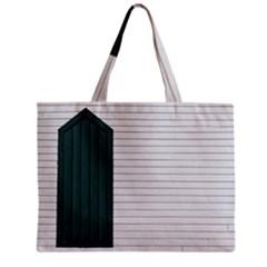 Construction Design Door Exterior Zipper Mini Tote Bag