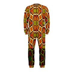 Geometry Shape Retro Trendy Symbol Onepiece Jumpsuit (kids) by Amaryn4rt