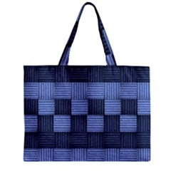 Texture Structure Surface Basket Zipper Mini Tote Bag