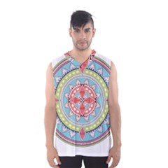 Drawing Mandala Art Men s Basketball Tank Top by Amaryn4rt