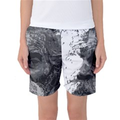 Grandfather Old Man Brush Design Women s Basketball Shorts by Amaryn4rt