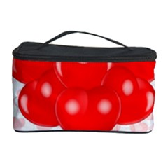 Abstract Background Balloon Cosmetic Storage Case by Nexatart