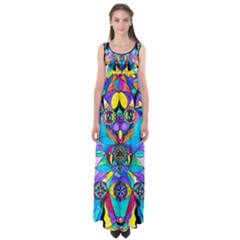 The Cure   Empire Waist Maxi Dress by tealswan