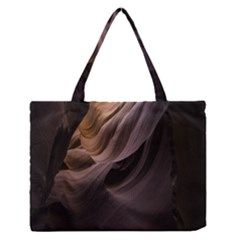 Canyon Desert Landscape Pattern Medium Zipper Tote Bag by Nexatart