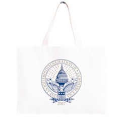 President Trump Inaugural Logo Inauguration Pence Seal Usa 2017 Zipper Large Tote Bag by yoursparklingshop
