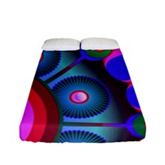 Abstract Digital Art  Fitted Sheet (full/ Double Size) by Nexatart