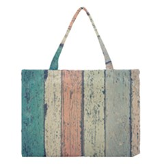 Abstract Board Construction Panel Medium Tote Bag by Nexatart