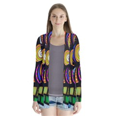 Folk Art Flower Cardigans by Nexatart