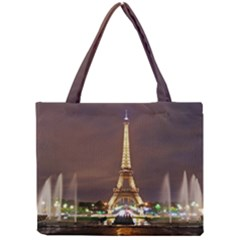 Paris Eiffel Tower Mini Tote Bag by Nexatart