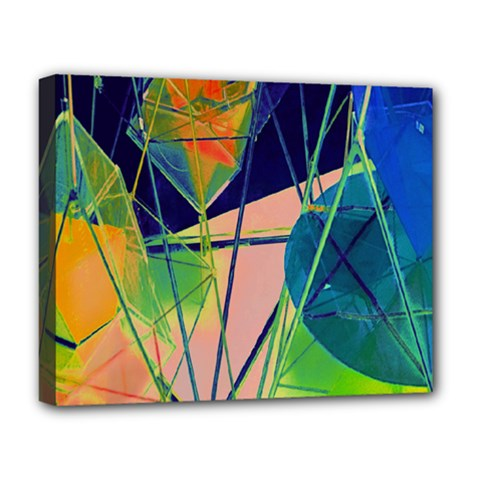 New Form Technology Deluxe Canvas 20  x 16   by Nexatart