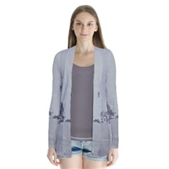 Gray Fashion Dtla District Drape Collar Cardigan by lynngrayson