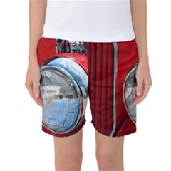 Antique Car Auto Roadster Old Women s Basketball Shorts by Amaryn4rt